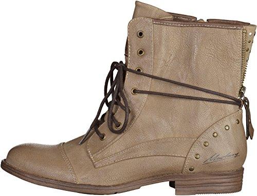 Mustang Damen 1157-508-259 Combat Boots Beige (318 Taupe)