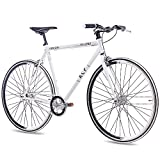 "KCP 28"" Zoll Fixie Rennrad URBANRAD Single Speed FG1 Flat"