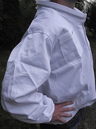 Dichter Tunika Top (Top Imkerbekleidung: Imkerjacke mit Wulstkragen in der Größe L (54 /56))