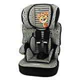 Sitzerhöhung mit Geschirr - gruppen 1/2/3 - BELINE - 4 farben - Jaguar