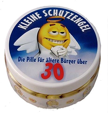 Kleine Schutzengel - Pillen zum 30. Geburtstag (Traubenzucker)