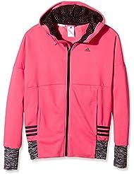 Adidas YG W St FZ HD–Sweat-shirt pour fille