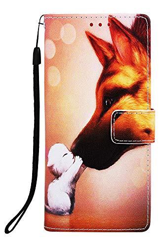 Wiitop Schutzhülle für Samsung Galaxy S10 Plus Lite, PU-Leder, Brieftaschen-Design, mit Kreditkartenschlitz, Handgelenkschlaufe, Magnetverschluss, Ständerzubehör, Galaxy S10e / S10 Lite 5.8