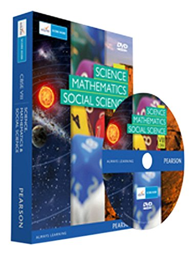 Edurite's Combo Pack of Maths, Social Science and Science for CBSE Class 8 (DVD)