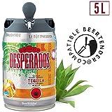 Bière - DESPERADOS Fût de biere Blonde Téquila - Compatible Beertender - 5 L