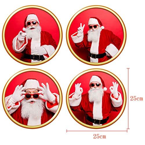 Mitlfuny Weihnachten DIY Home Decor 2019,Dekorative Malerei SchlafzimmerWohnzimmer TV Wanddekoration Wandaufkleber Wandbild