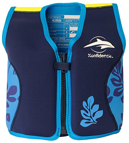 the-original-konfidence-childrens-swim-jacket-navy-blue-palm-6-7-years