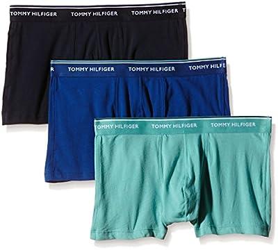 Tommy Hilfiger Men's 3 Pack Premium Essentials Boxer Shorts