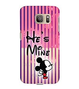 PrintVisa Romantic Mickey 3D Hard Polycarbonate Designer Back Case Cover for Samsung Galaxy S7 :: Samsung Galaxy S7 Duos :: Samsung Galaxy S7 G930F G930 G930FD