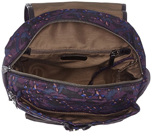 Kipling Damen City Pack S Rucksack Mehrfarbig (Soft Camo)