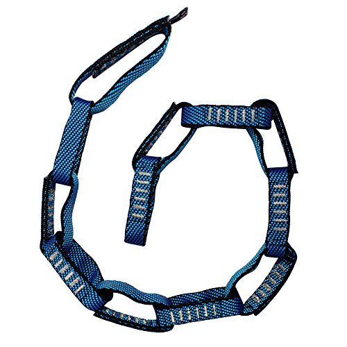Fusion Climb 12 Loop individuale Loop in catena 5000 lb prova cucita tessitura di nylon 45