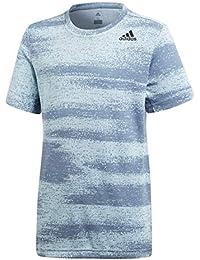 Adidas Yb Gradient tee Camisa de Golf, Niños, Gris (Gricen/Acenat), 116 (5/6 Años)