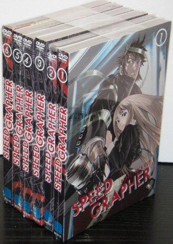 Speedgrapher Vol. 1 - 6, Die komplette Serie auf 6 DVD`s (DVD - 2006) - Director's Cut