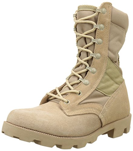 us-army-desert-combat-jungle-patrol-mens-boots-tan-suede-leather-khaki-taglia-40