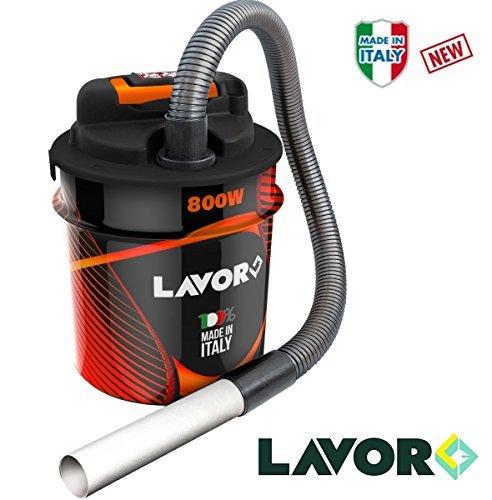 Aspiracenere pellet/aspiratore/aspiracenere/aspiraceneri/aspiarapolvere 800w 14lt. lavor - ashley 2.1