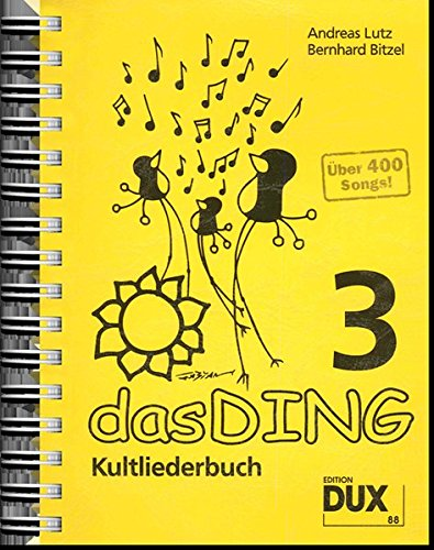 Das Ding 3: Kultliederbuch