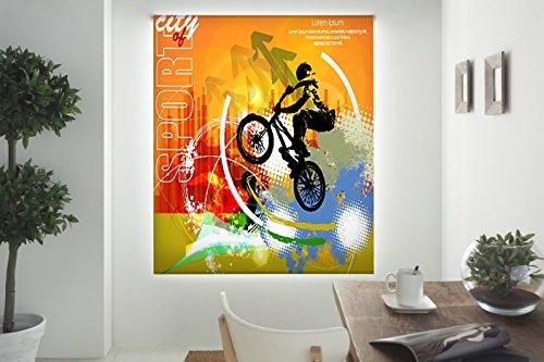 Blindecor Estor Enrollable translúcido, Tela, 150 x 180 cm