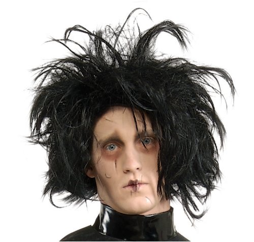 Official Edward Scissorhands Wig Fancy Dress