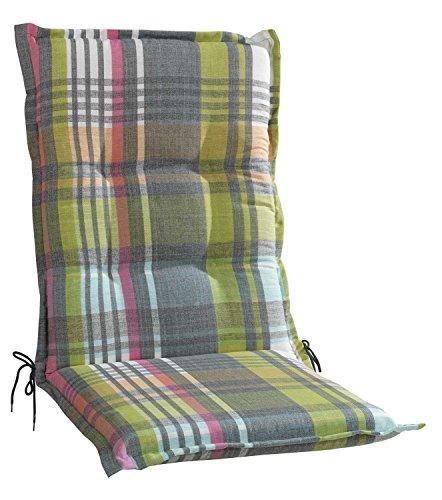 Sesselauflage Sitzpolster Gartenstuhlauflage für Mittellehner BABBLES 5 | B 50 cm x L 110 cm |...