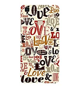 ifasho Designer Phone Back Case Cover Vivo V3 ( Quotes on Life fails to be Prefect Never Beautiful )