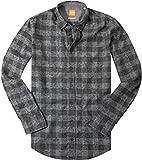 BOSS Orange Herren Hemd EdipoE Oberhemd, Größe: XXL, Farbe: Grau