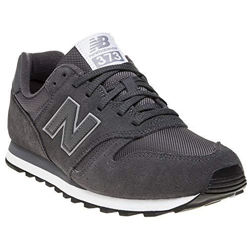 New Balance 373, Sneaker Uomo, Grigio (Dark Grey DAR), 44.5 EU