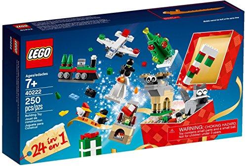 LEGO® 40222,  24-In-1 Weihnachtsspaß 2016, Weihnachtlicher Bauspass