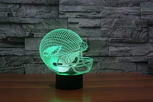 Philadelphia Eagles Led Tischlampe Neonschild Neu 3D Neon NFL USA 6 verschieden Farben - Eagle Electronics