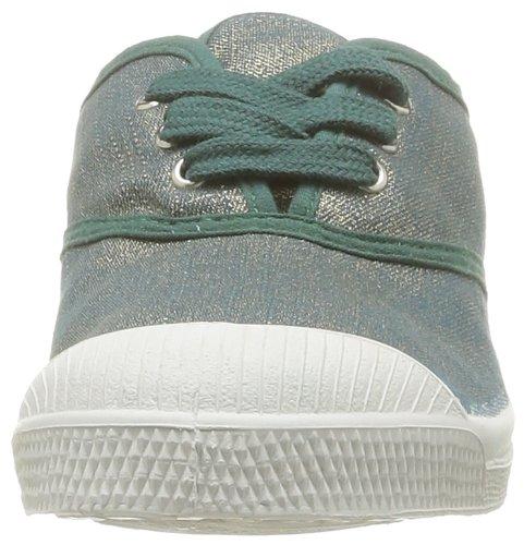 Bensimon Tennis Glossy, Unisex - Kinder Sneaker Grün - Vert (Vert 617)