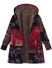 Manteau Femme Hiver VêTements Femme Automne Femmes Manteau d'hiver col épais Chaud Long Manteau Manteau de Veste de Poche à glissière