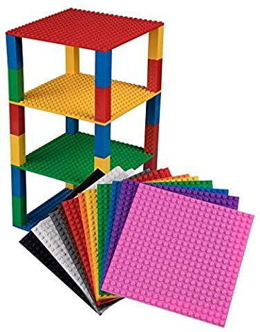 Premium Rainbow Stackable Base Plates - 12 Pack 6