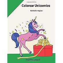 Colorear Unicornios ~ Navidades magicas: Navidad colorear, Unicornio Libro para colorear para niños y