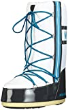 Tecnica MOON BOOT TRAINING BIANCO-GRIGIO-AZZ., Mädchen Outdoor Fitnessschuhe, Mehrfarbig (002), 35/38 EU (0.5 Damen UK)