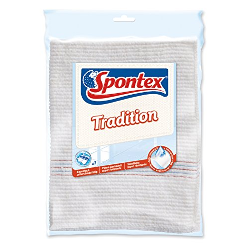 Spontex Bodentuch Tradition, 1er Pack - Klassisches Bodentuch - (5x1 Stk.)