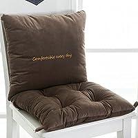 Agarre antideslizante silla asiento Lumbar de cojines y soporta almohada bordada con cintas de sujeción asiento almohadillas cojín para el coxis