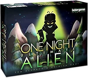 Bezier Games bez00021-Juego de Cartas One Night Ultimate Alien