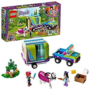 LEGO - Friends Il rimorchio dei cavalli di Mia, Set di Estensione Stabile, Buggy 4x4, Mini-doll Mia ed Emma, Idea Regalo… #GIOCHERIA LEGO