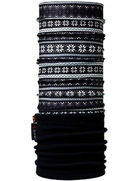 Buff Polar, Foulard multifunction Unisex, Multicolor (Snowflakes/Black), Talla única
