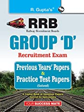Indian Railways: Group 'D' Previous Years' Papers & Practice Test Papers (Solved)
