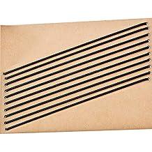 Travelers Notebook Elastische Bänder, 10 Stück Leder Tagebuch Nachfüllband Bänder Ersatz Notebook Verschluss Bänder zum Verbinden von Einlagen, Standardgröße
