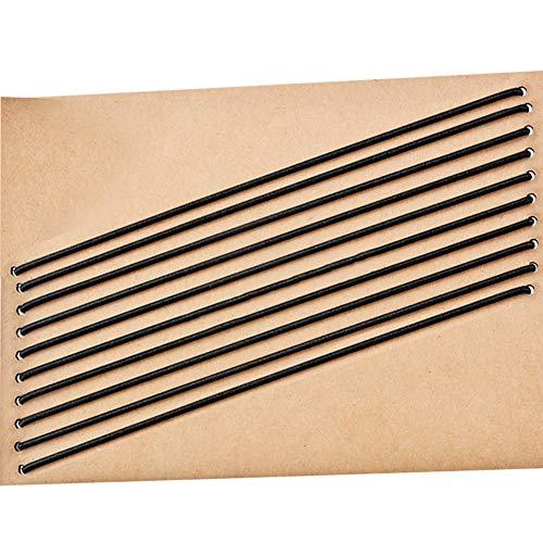 Travelers notebook fasce elastiche, 10pezzi in pelle Journal refill collegamento Band cinghie sostituzioni, chiusura alta bande per collegare inserti, misura standard