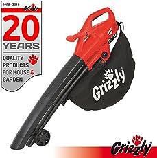 Grizzly Aspirafoglie elettrico 3 in1 EL 2800 velocità 270 km/H 2800 Watt