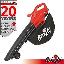 Grizzly électrique 3en 1Aspirateur souffleur broyeur EL 2800Blas vitesse 270KM/H 2800W