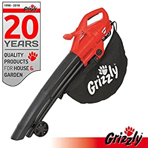 Grizzly elettrico 3 in1 soffiatore trituratore EL 2800 Blas velocità 270 km/H 2800 Watt