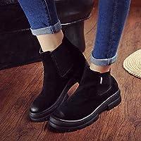 ZYT Autunno/inverno stivali ladies elastica del piede spesse suole usurate casual scarpe da donna . c . 37