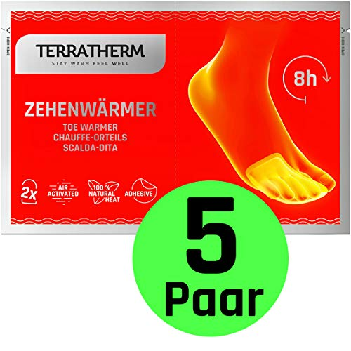 Calienta pies adhesivos- 5 Pares