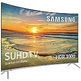 """Samsung UE55KS7500U 55"""" 4K Ultra HD Smart TV Wifi Negro, Plata - Televisor (4K Ultra HD, Tizen, A+, 16:9, 3840 x 2160, 2160p)"""