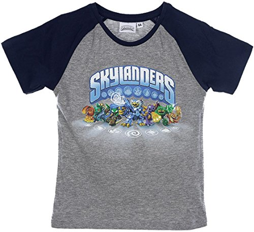 Skylanders Swap Force T-Shirt in Grau Gr. 98