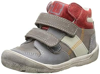 Babybotte Adawolf, Sneakers Hautes garçon, Gris (328 Gris), 24 EU (UK child 7 Enfant UK)