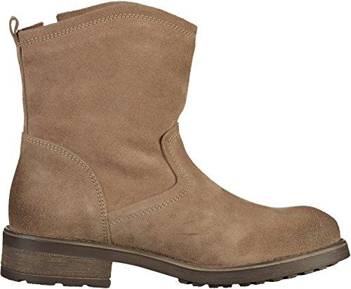 Tamaris Damenschuhe 1-1-25454-29 Damen Stiefel, Boots, Damen Stiefeletten, Herbstschuhe & Winterschuhe für modebewusste Frau Beige(Taupe)